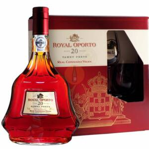Royal Oporto 20 Years Old Tawny (DD + 2 Pohár) [0,75L|20%]