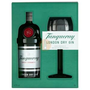Tanqueray London Dry Gin (DD+Pohár) [0,7L 43,1%]