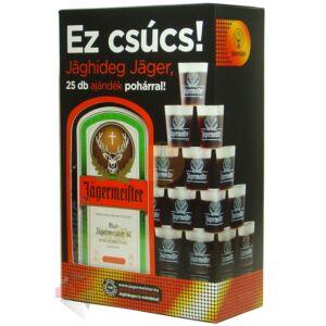 Jägermeister (DD+25 Műanyag pohár) [1L 35%]