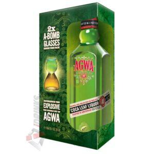 Agwa de Bolivia Kokalevél Likőr (DD+2 Pohár) [0,7L|30%]