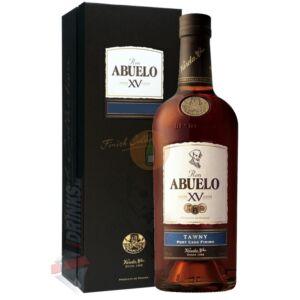 Abuelo XV Tawny Port Cask Finish Rum [0,7L 40%]
