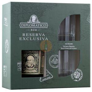 Diplomatico Reserva Exclusiva Rum (DD+2 Pohár) [0,7L 40%]