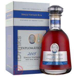 Diplomatico Single Vintage 2005 Rum [0,7L 43%]
