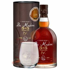 Dos Maderas PX 5+5 Years Rum (DD+Pohár) [0,7L 40%]