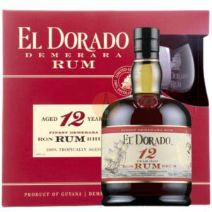 El Dorado 12 Years Rum (DD + Pohár) [0,7L 40%]