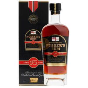 Pusser's 15 Years British Navy Rum [0,7L|40%]