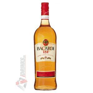 Bacardi 151° Rum [1L 75%]