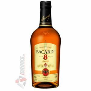 Bacardi 8 Éves Rum [1L 40%]