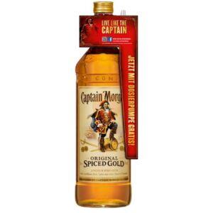 Captain Morgan Spiced Gold (+Ajándék pumpa) [3L|35%]