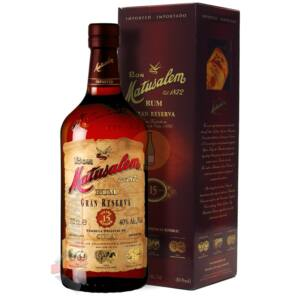 Matusalem Gran Reserva 15 Years Rum (DD) [0,7L 40%]