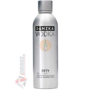 Danzka Fifty Premium Distilled Vodka [1L 50%]
