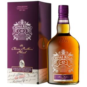 Chivas Regal Brothers Blend 12 Years Whisky [1L 40%]