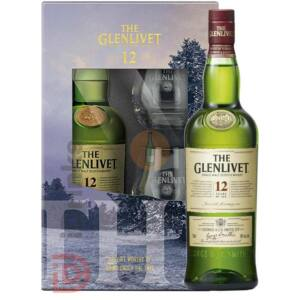 Glenlivet 12 Years Whisky (DD+2 Pohár) [0,7L|40%]