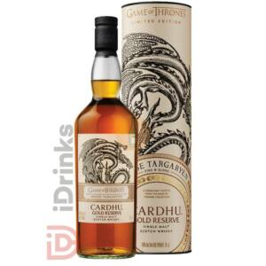 House Targaryen & Cardhu Gold Reserve Whisky - Game of Thrones Collection [0,7L|40%]