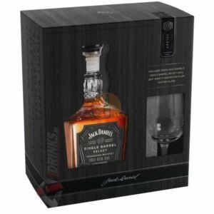 Jack Daniels Single Barrel Whiskey (DD+Pohár) [0,7L|47%]