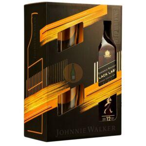 Johnnie Walker Black Label Whisky (DD+2 Pohár) [0,7L|40%]