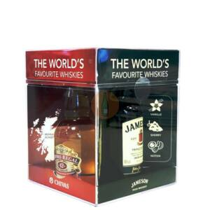 World's Favourite Whiskies Pack [4*0,05L 40%]
